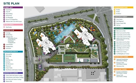 site plan carrington group of companies homes condos gem residences new launch property