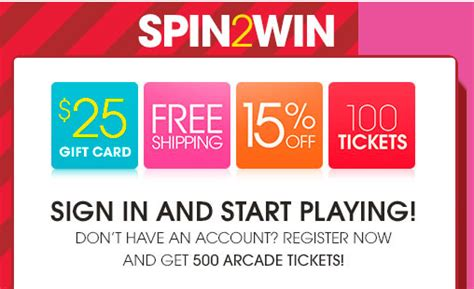 Hsn Gift Card - hsn spin2win instant win game win a 25 gift card mojosavings com