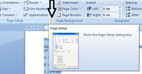 membuat nomor halaman landscape cara membuat orientasi landscape halaman tertentu