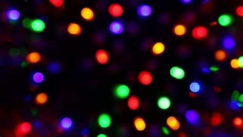 christmas holiday colorful lighting  blinking  sparkling bokeh background  stock