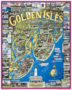 brunswick golden isles puzzle post card white mountain puzzles