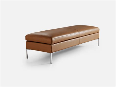 leather seating bench anytime bench by la cividina design fulvio bulfoni