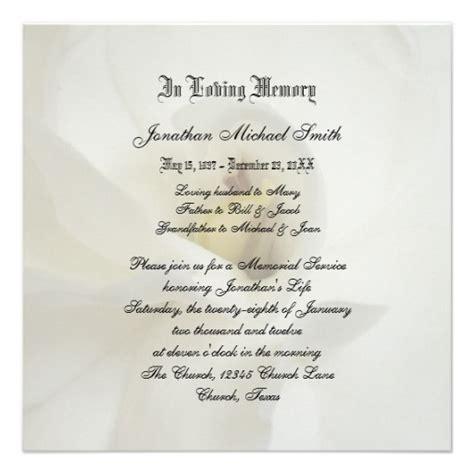 memorial service notice template best photos of sle memorial service invitation wording