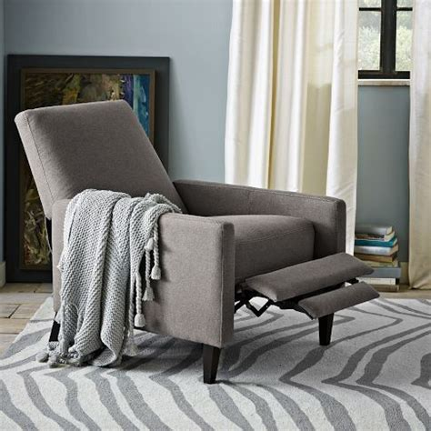 west elm sedgwick recliner review best 25 small recliners ideas on pinterest lazy boy