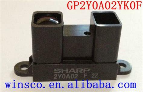 Sensor Jarak Infrared Gp2y0a02yk0f Sharp 2y0a02 20 150cm 10pcs lot gp2y0a02yk0f 100 new sharp 2y0a02 20 150cm infrared distance sensor including wires