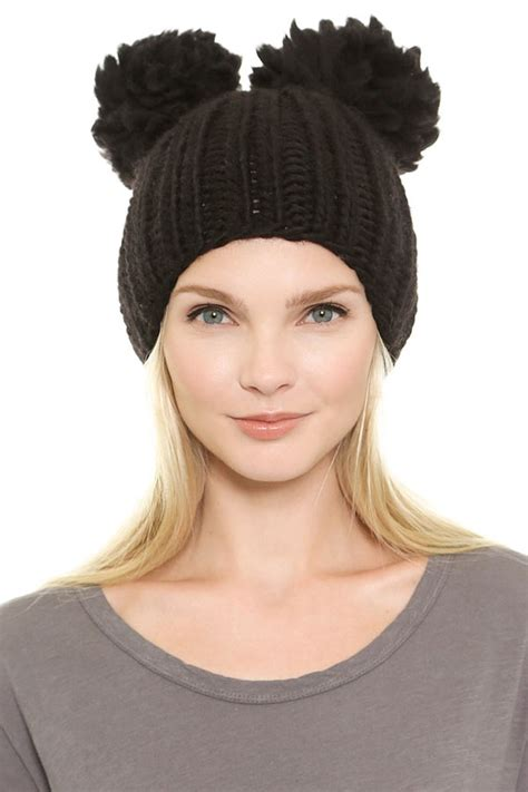 Tries On Hats by S Fashion Knitted Stylish Hats Trends For Winter 2018