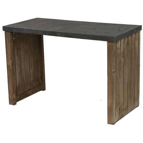 Console En Bois 2451 console cuisine bois et zinc wraste