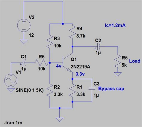 Quick Home Design Software How To Design Common Emitter Amplifier