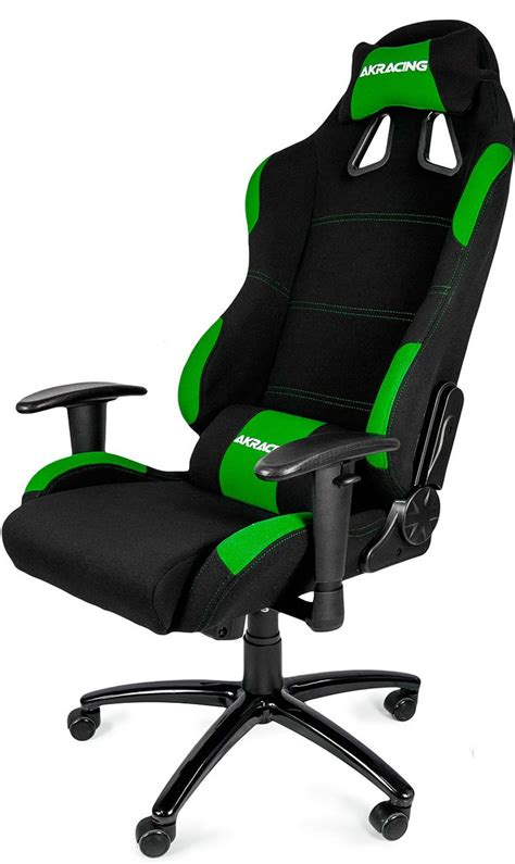 Ultimate Cing Chair by Ak Racing Gaming Chair Black Green Falcon Computers