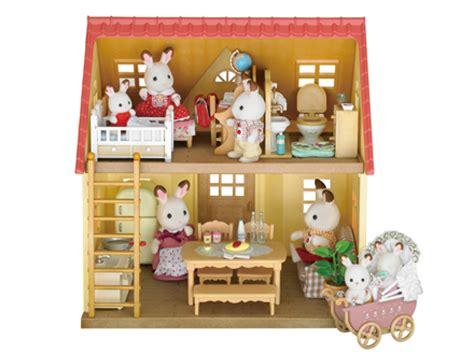Sylvanian 3350 Baby Carry Cat At Desk sylvanian families chocolate rabbit baby set my