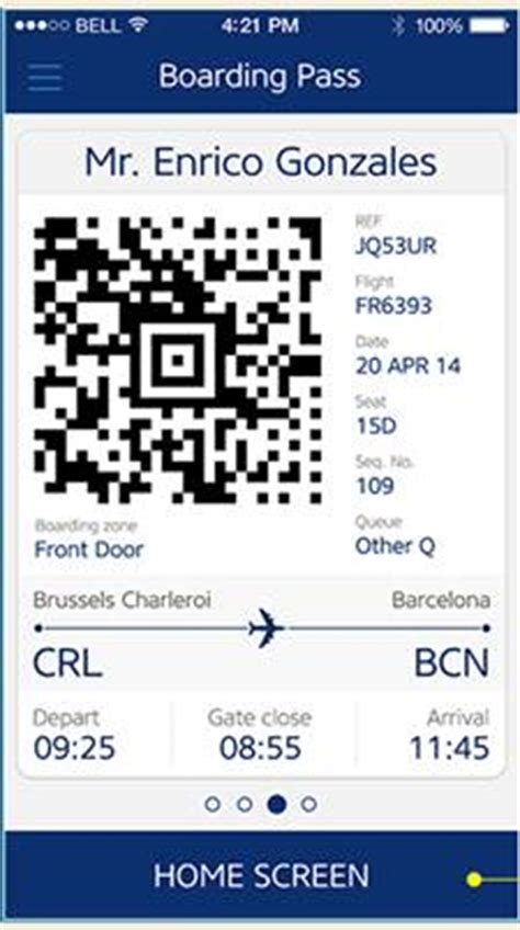 mobile check in ryanair ryanair introduces mobile boarding pass at most airports