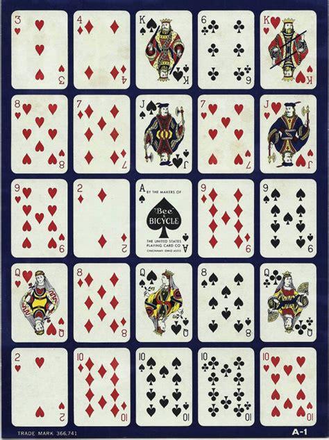 playing card print etsy 2 vintage pokeno cards paper ephemera mixed by