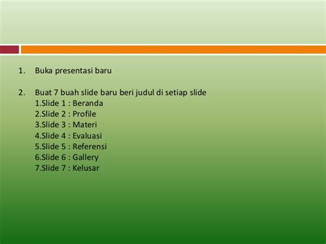 membuat hyperlink di powerpoint 2007 01 membuat tombol menu hyperlink di power point 2007
