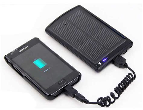 charger solar solar battery charger for iphone smart phone