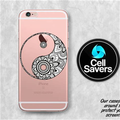 Moon Yin Yang Y2176 Iphone 6 6s best clear henna iphone 6 cases products on wanelo