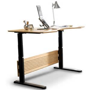 sit stand desk table number stands
