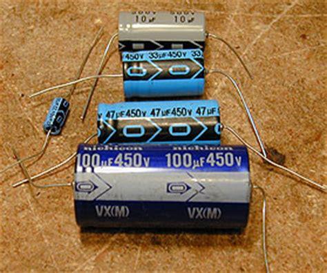 capacitor markings arrow replacing capacitors in radios and tvs