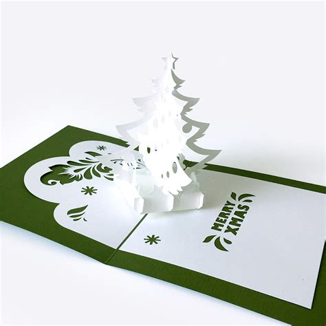 tree card template template pop up card 171 tree 187