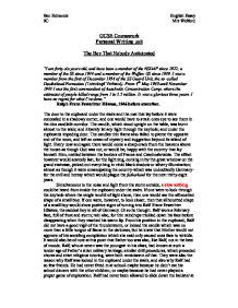 Boy In Striped Pyjamas Essay by The Boy In The Striped Pyjamas Personalised Writing Gcse Marked By Teachers