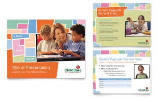preschool flyer template preschool day care powerpoint presentation template