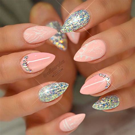 cute stiletto nail designs 27 stiletto nail designs for you to shine naildesignsjournal