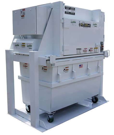 how does a commercial trash compactor work vertical compactors waste compactor rental sales