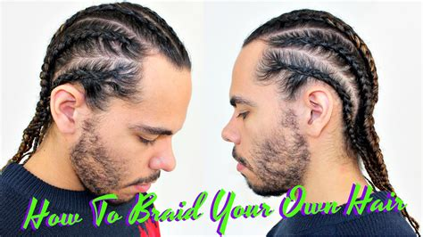 Cornrow Hairstyles For Hair Tutorial by Tutorial How To Braid Cornrow Your Own Hair Protective