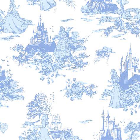 disney toile wallpaper licensed flannel back satin princess toile joann