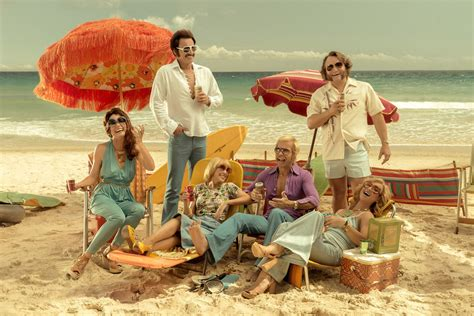 a swinging safari guy pearce and kylie minogue have a swinging safari in the