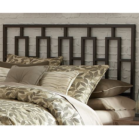 Iron Headboards King Miami Iron Headboard Sleek Contemporary Design Coffee Finish