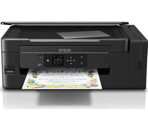 Printer Epson Ecotank epson ecotank et 2650 all in one wireless inkjet printer deals pc world