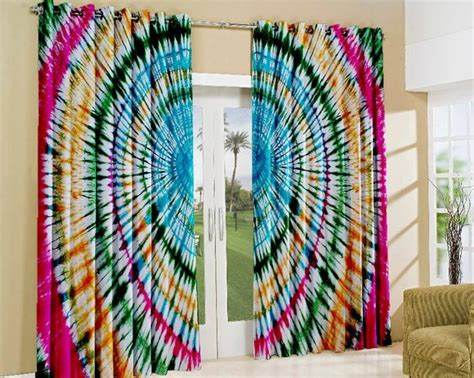 cortina hippie como fazer uma cortina em tie dye mundo tie dye
