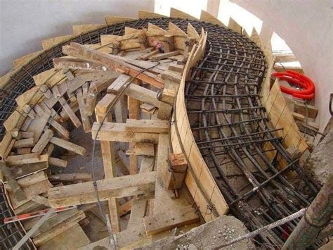 Kitchen Layouts And Design various type of formwork for curved concrete stairs