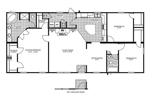 Clayton Manufactured Homes Floor Plans Manufactured Home Floor Plan 2009 Clayton Jamestown
