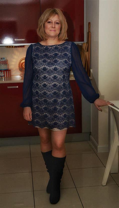 Gmb Dress Enjoy the world s best photos of bluedress and legs flickr