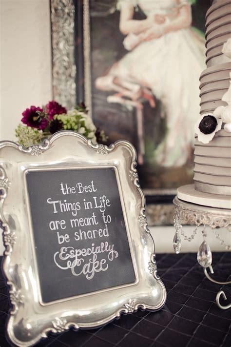 Custom Chalkboard Wedding Ideas   {wedding inspiration