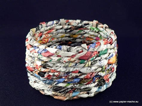 A Paper Basket - papier mache gallery by joanna jedrzejewska papier