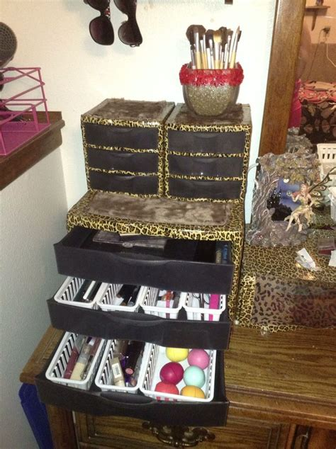 How To Decorate Sterilite Drawers by Here Is An Idea On How To Decorate Those Sterilite Brand