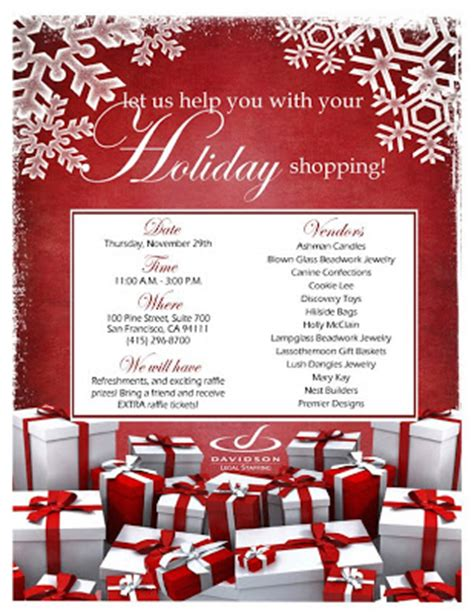 design holiday flyer lcj designs corporate holiday flyer
