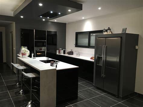 cuisine blanche et noir cuisine et blanche cuisines habitat