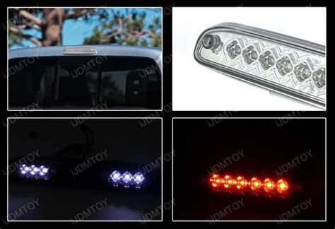 ford f350 third brake light bulb 99 12 ford f250 chrome led 3rd brake light