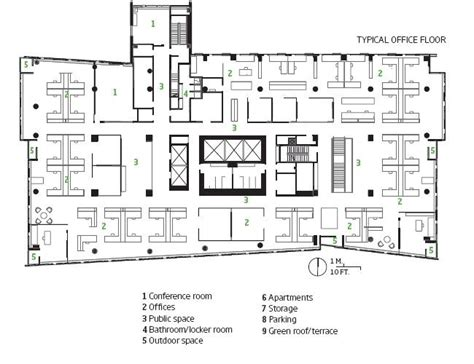 office building floor plan office floor plans typical office floor plan of twelve west in portland oregon 169 2009