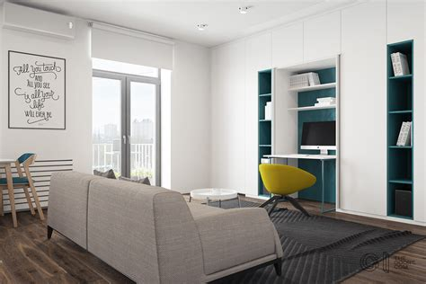 living room i 3 modern style apartments 50 square meters includes floor plans
