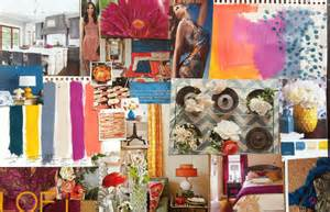 Acrylic Painting Textures - how to make a moodboard the old fashioned way a and her brush