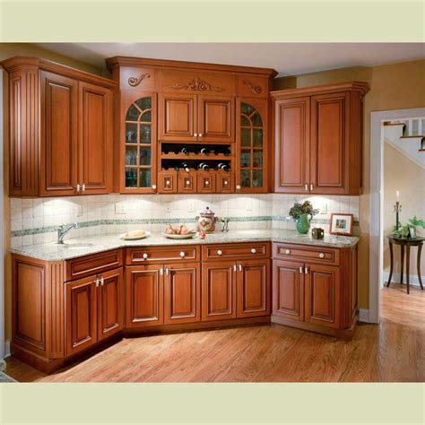 Wood Cabinet Kitchen Cherry Wood Kitchen Cabinets Pictures Interiordecodir