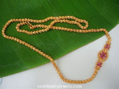chain designs imitation chains designs page 2 of 3 south india jewels