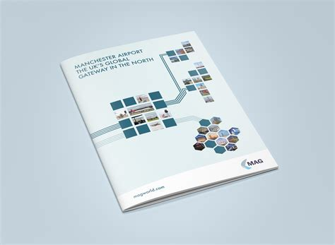 leaflet design manchester manchester airport brochure design the agency creative