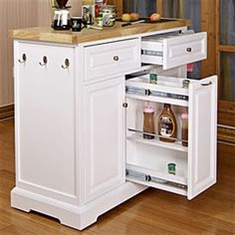 white kitchen cart with black granite insert at big lots