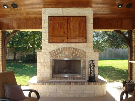 Outdoor Fireplace With Tv by Outdoor Fireplaces Outdoor Living