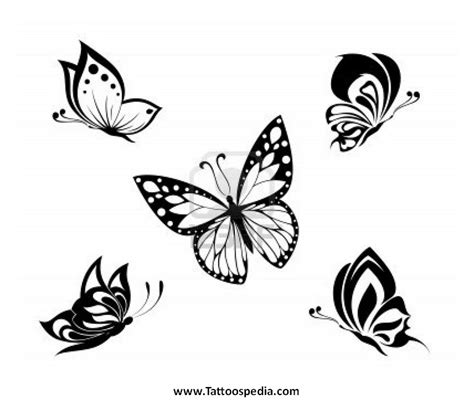 white butterfly tattoo monarch butterfly black and white